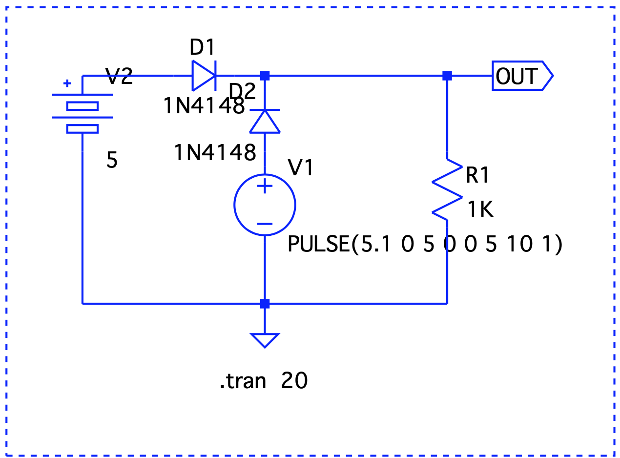 Diode as a forward switch